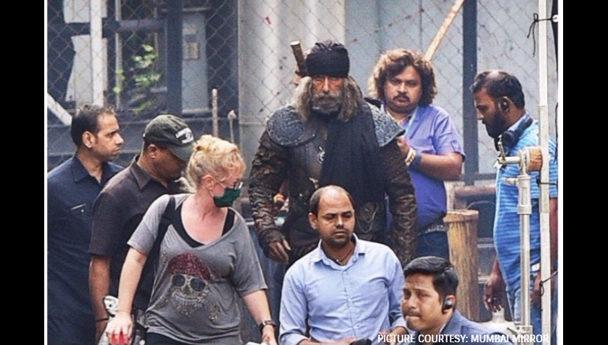 Amitabh Bachchan's leaked look from Thugs Of Hindostan is ...