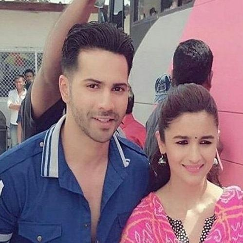 Upcoming fashion trends 2017 - On The Sets Of Badrinath Ki Dulhania Varun Alia To
