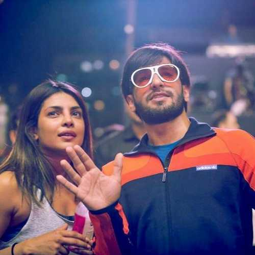 PICS: Ranveer Singh crashes Priyanka Chopra's rehearsals and it's the cutest thing ever