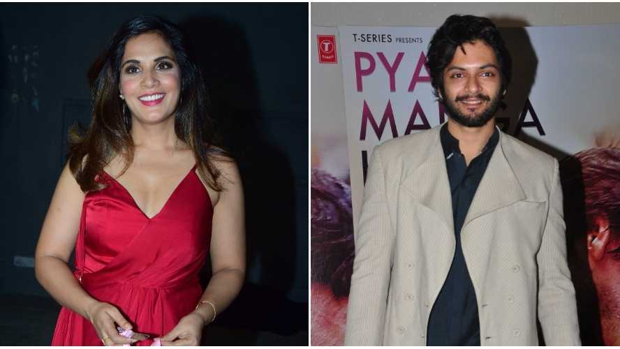 Beau Ali Fazal wished Richa Chadha first on her birthday this year & here's what he gifted