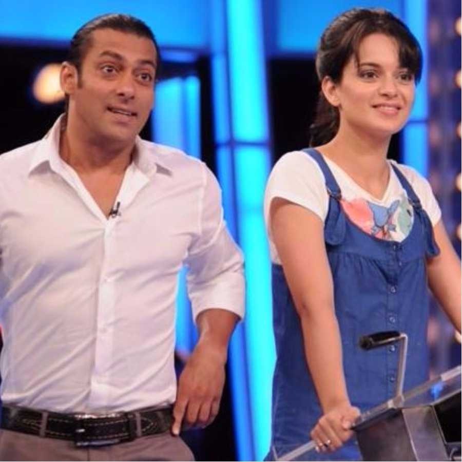 Has Salman Khan sided Karan Johar in the nepotism debate against Kangana Ranaut?